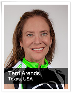Terri Arends Master Instructor USA