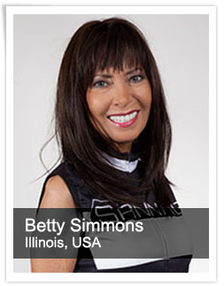 Betty Simmons Master Instructor USA