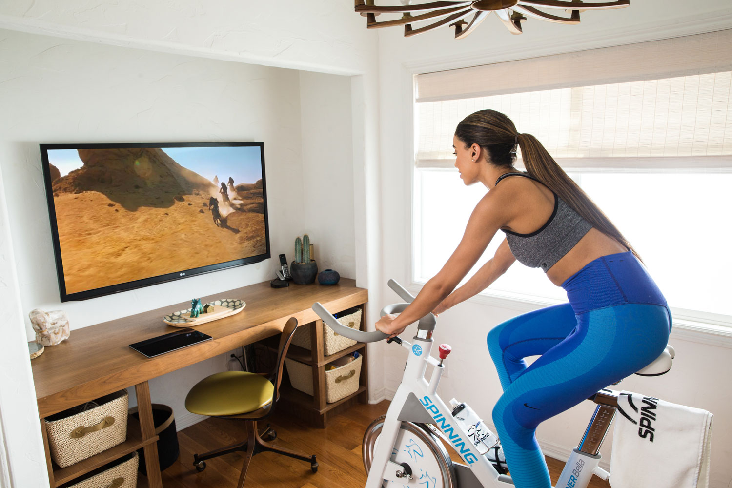 8 Outside the Box Ways to Enhance Your at-home Spinning® Experience - Watch TV